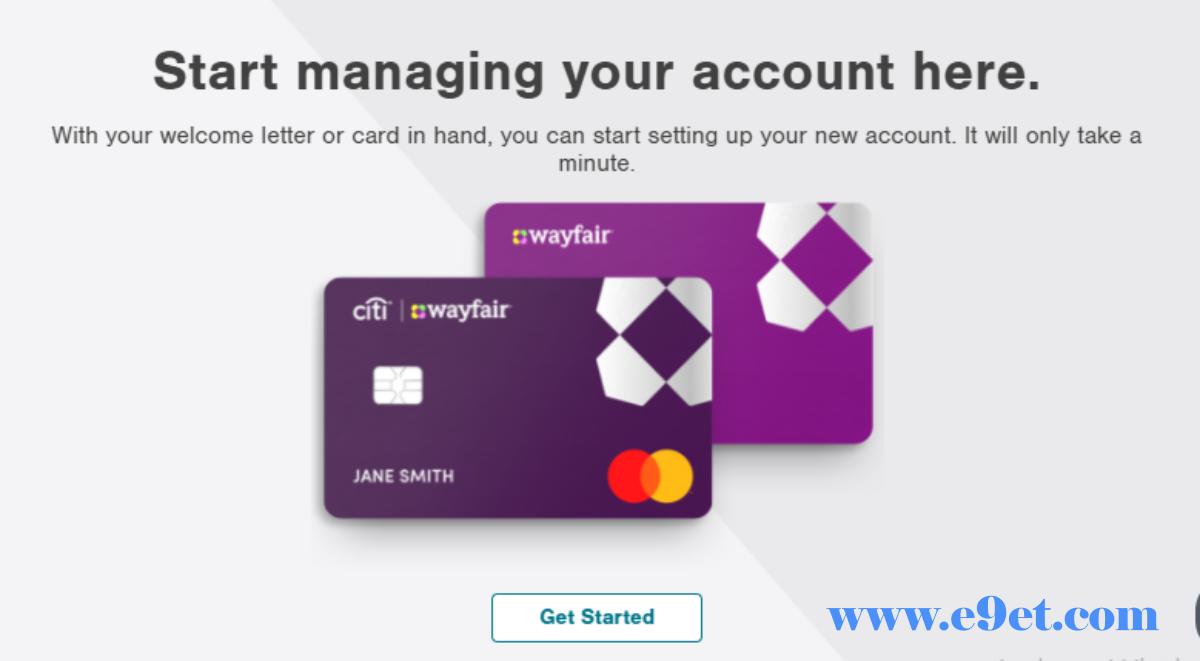 Wayfair Mastercard Log in