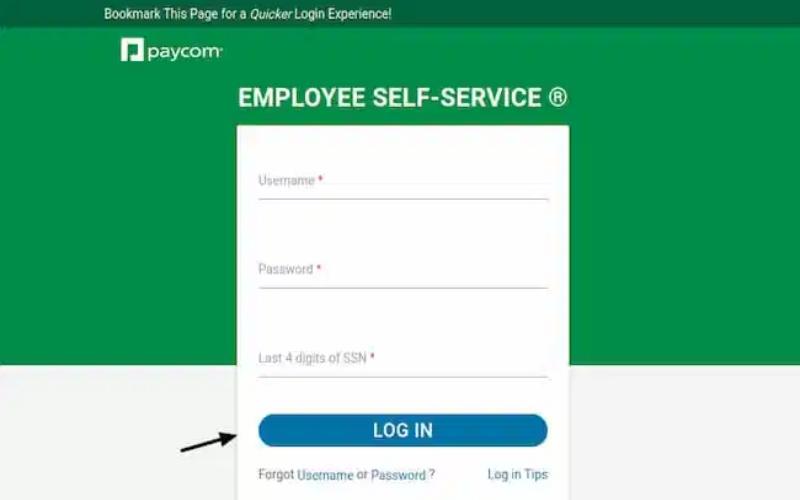 www.paycom.com Login Employee Login
