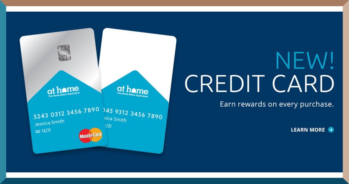 Athome Credit Card Login