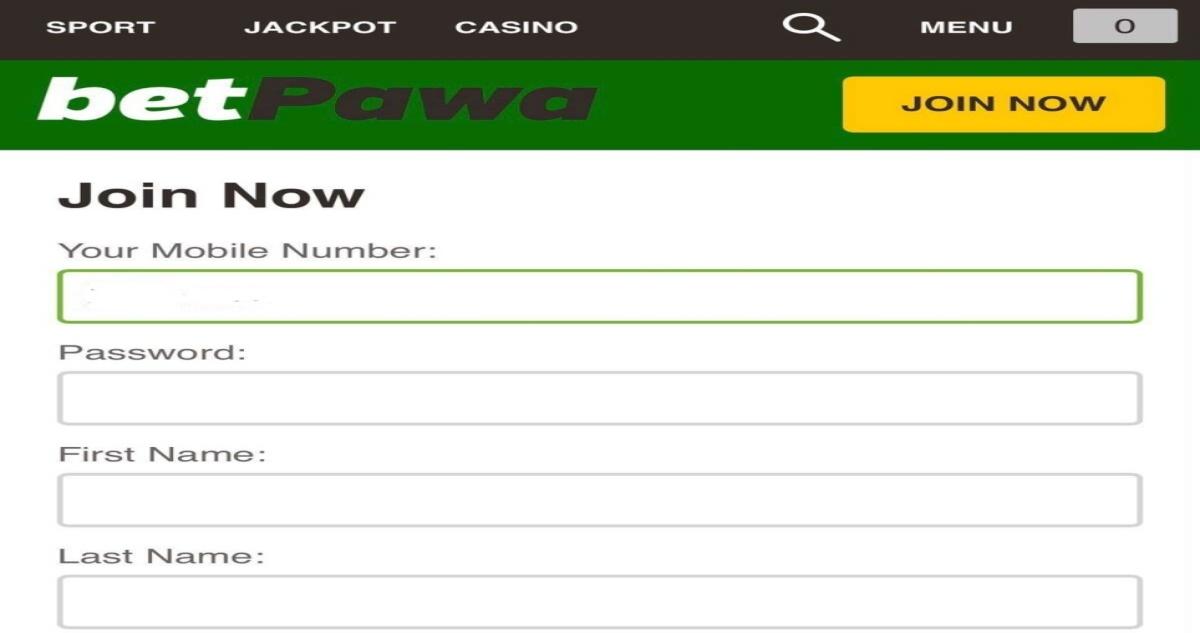 Betpawa Login - www.betpawa.com Sign in