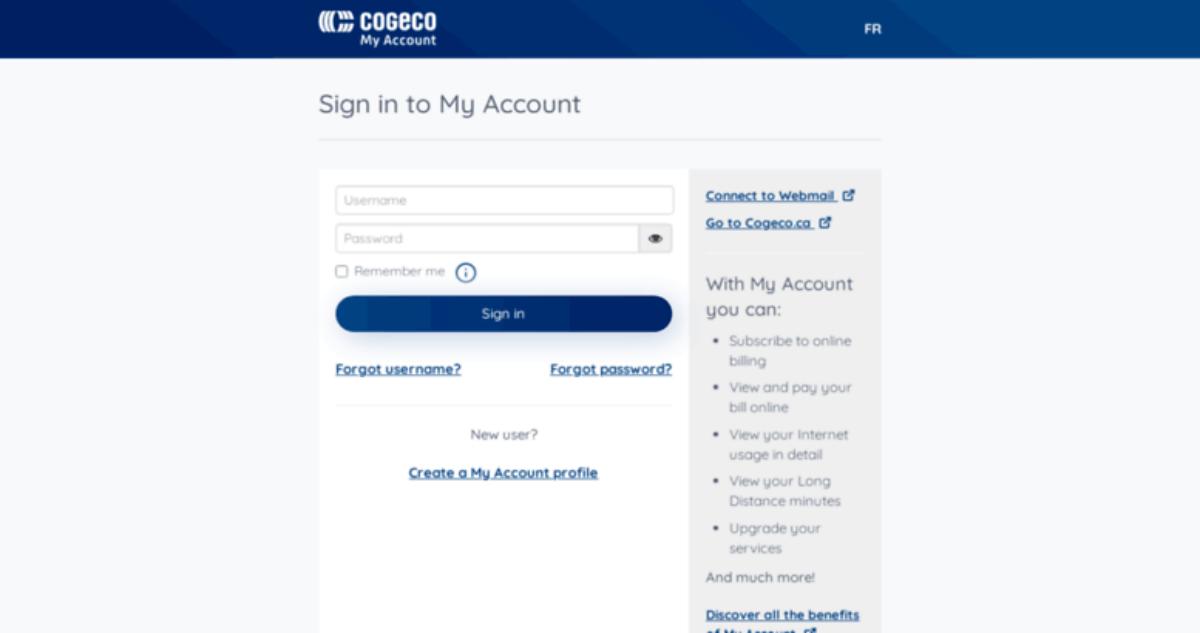 Cogeco Webmail Login