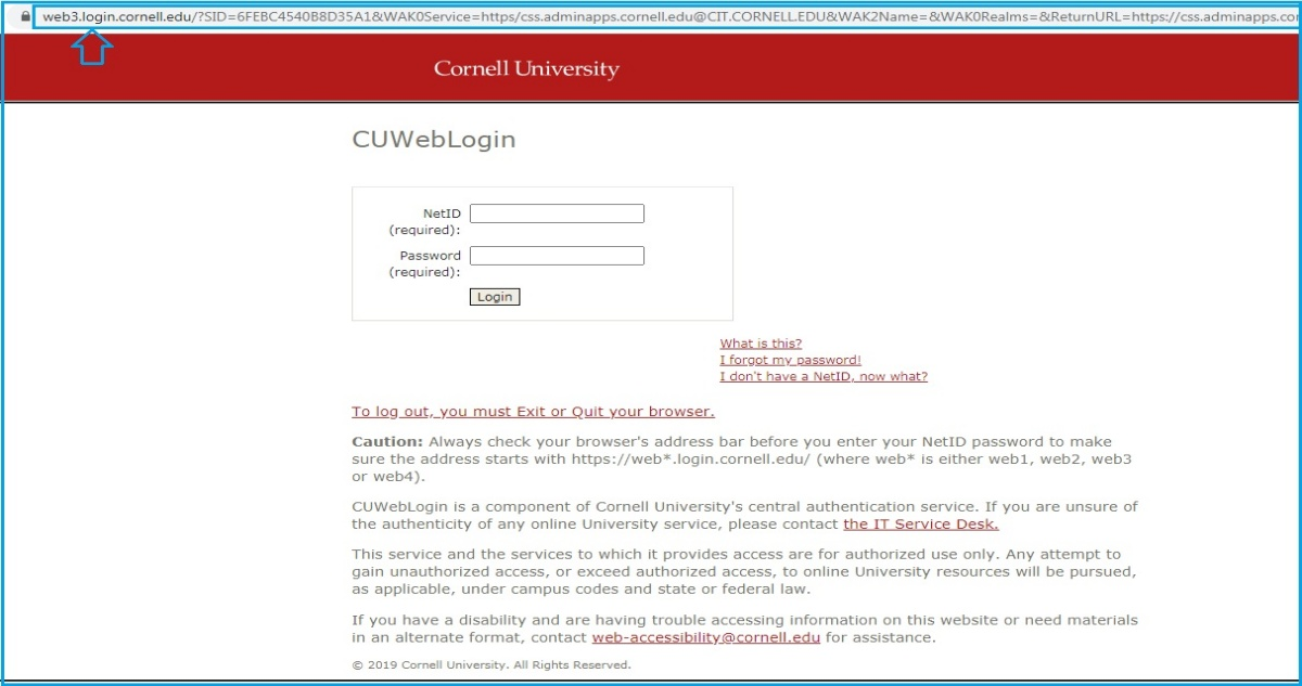 Cornell Student Center Login