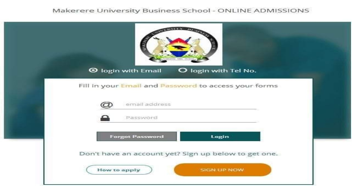 MUK Student Portal Login