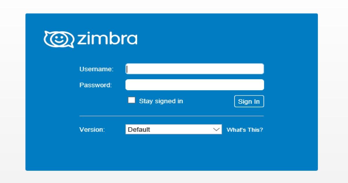 Mediacom Zimbra Email Login