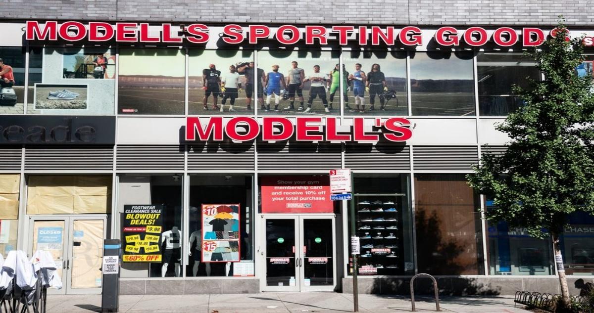 Modells Credit Card Login