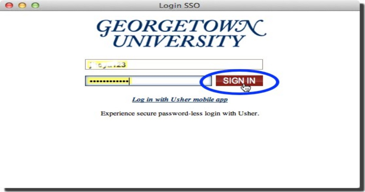 Myaccess Georgetown Login