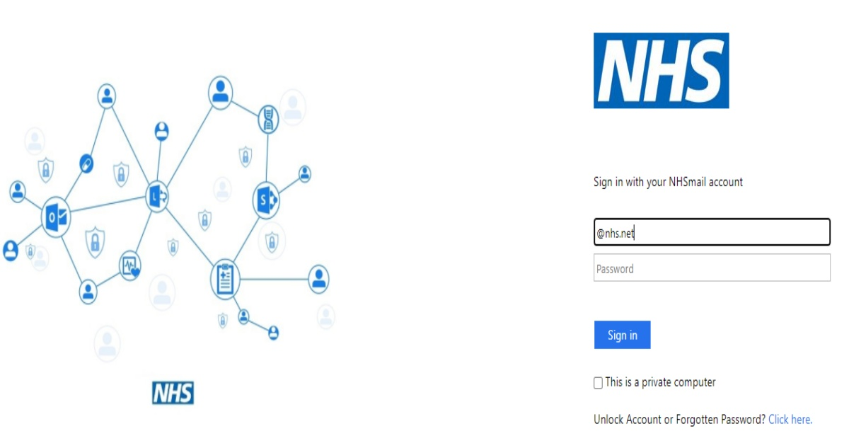 NHS Email Login