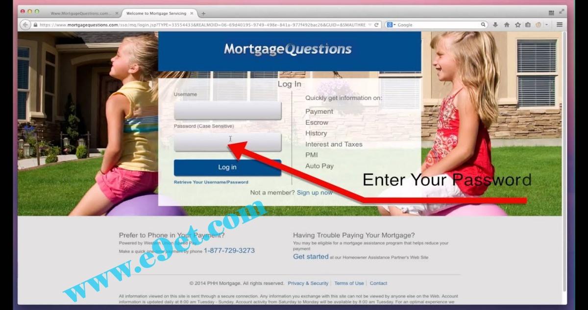PHH Mortgage Portal
