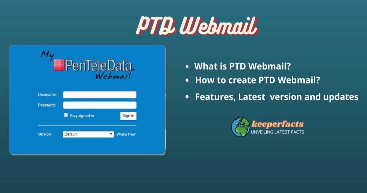 PTD Webmail Login