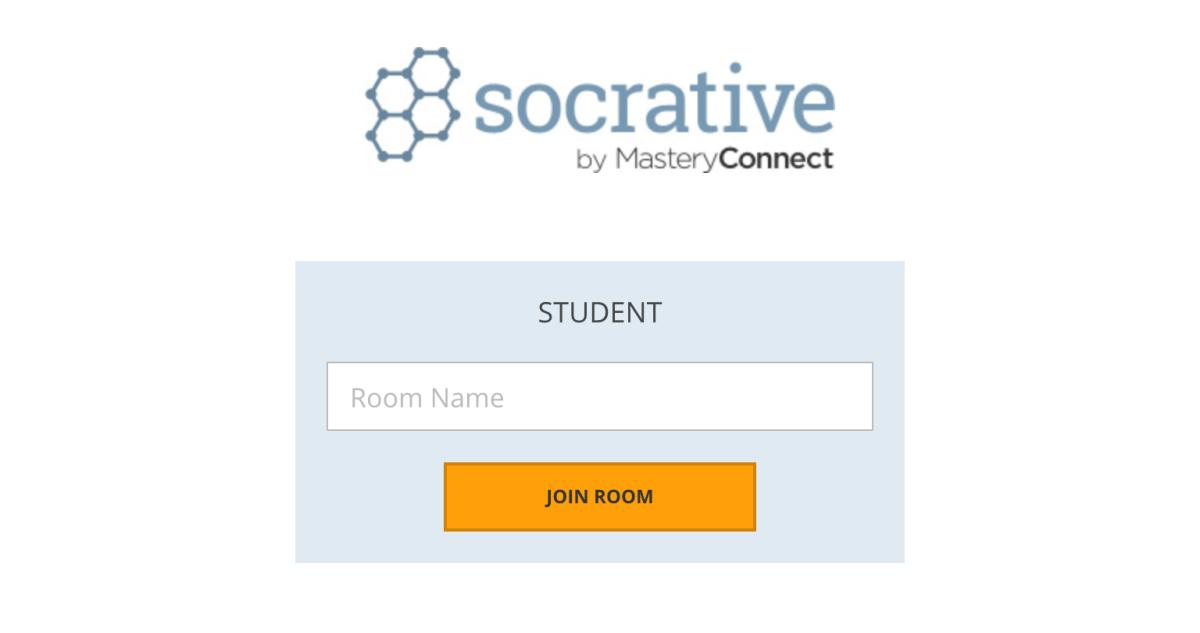 Socrative.com Login