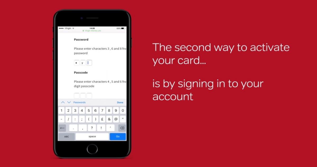 Virgin Credit Card Sign In