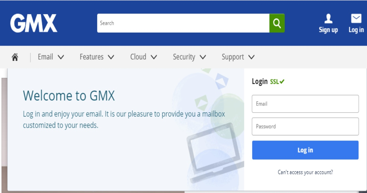 GMX.net Email