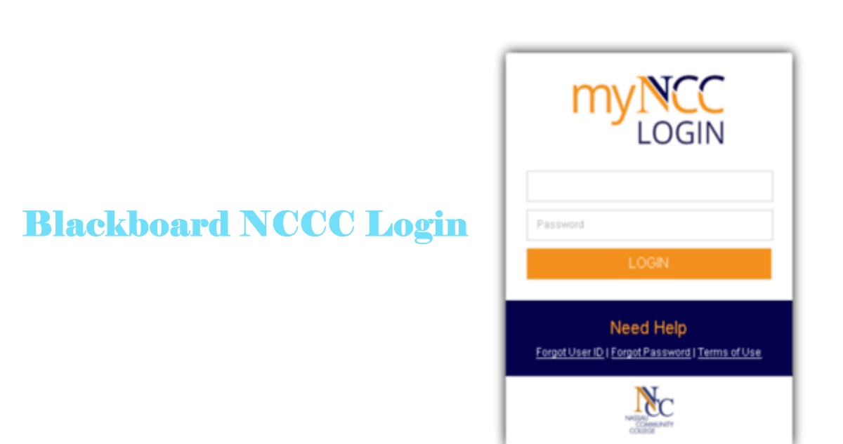 Blackboard NCCC Login