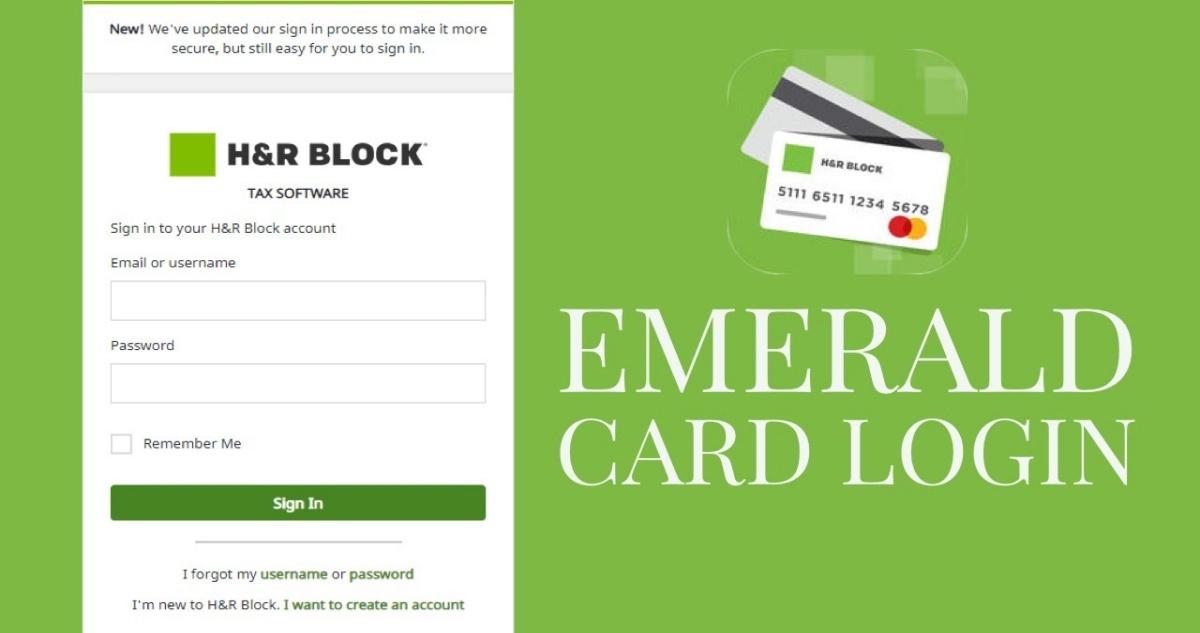 H&R Block Emerald Card Login