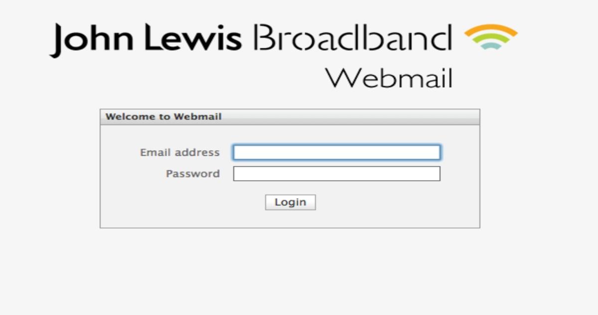 John Lewis Email Login