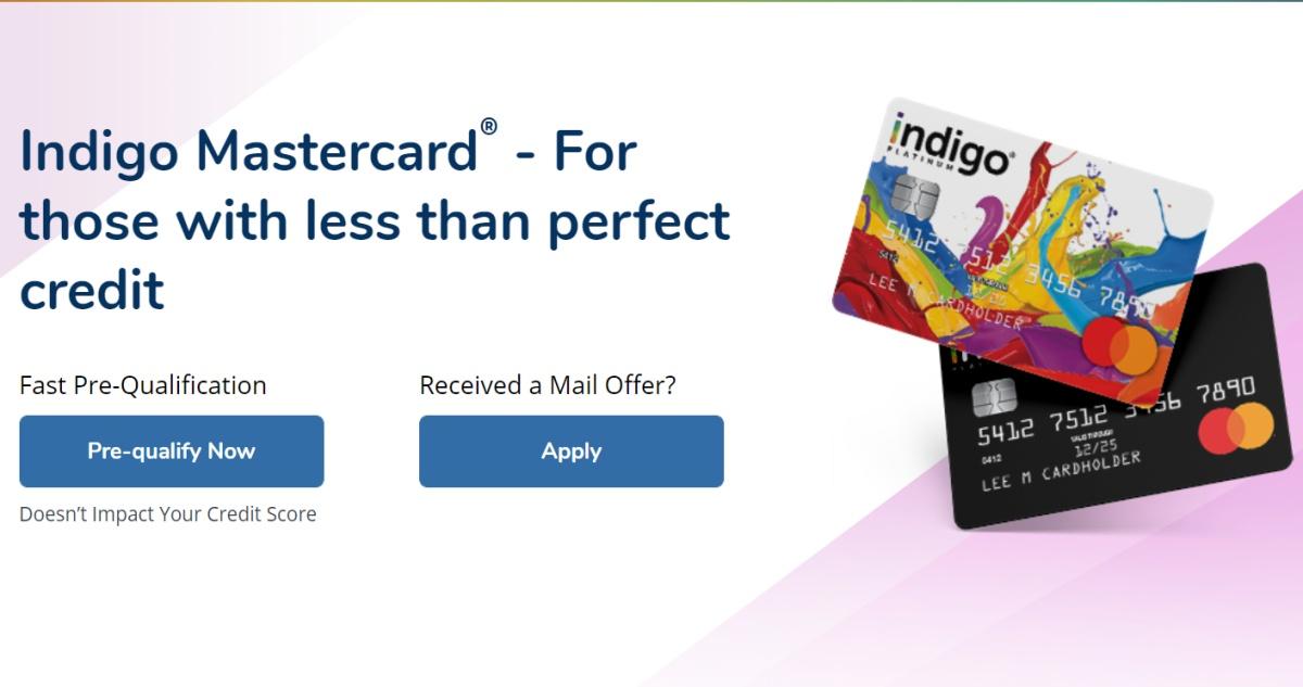 My Indigo Credit Card Login
