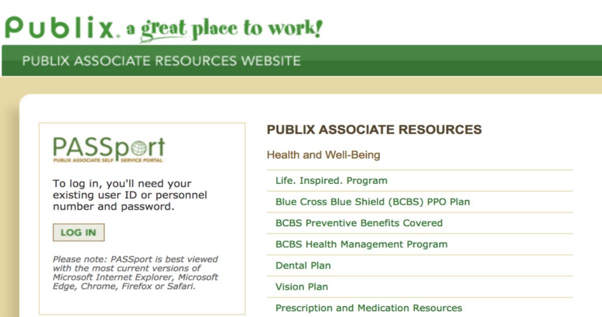 Publix Employee Portal Login