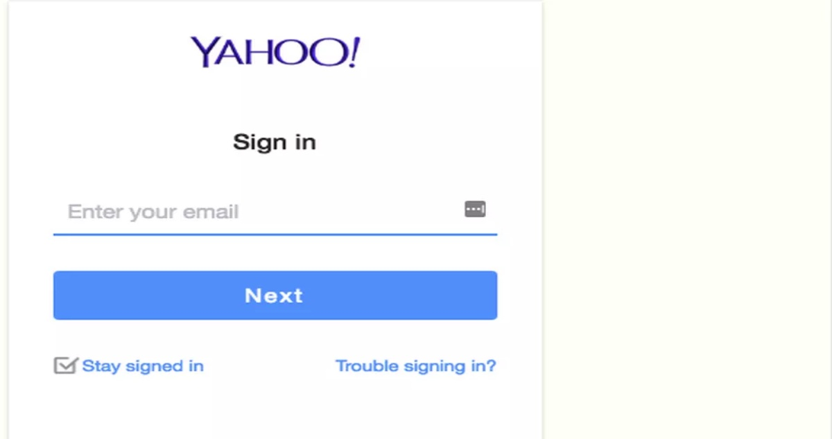 www Yahoomail com Sign In