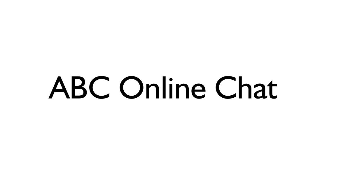 ABC Online Chat Login