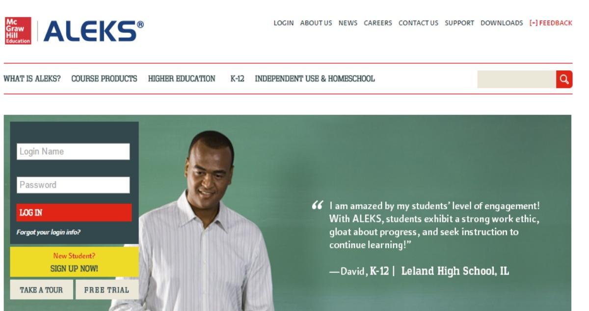 ALEKS Login for Students