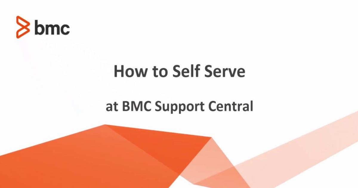 BMC Support Login