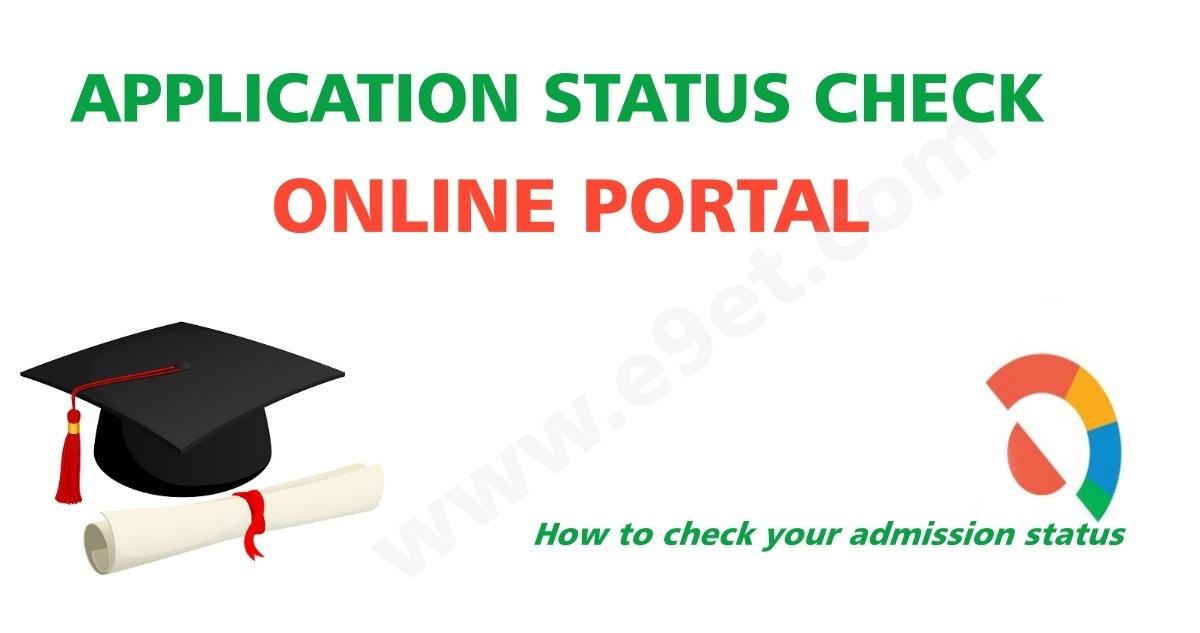 CQU Application Status | CQ University Admission Checker
