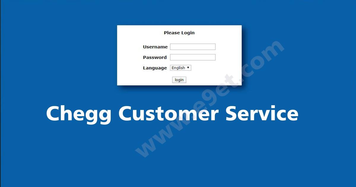 Chegg Customer Service