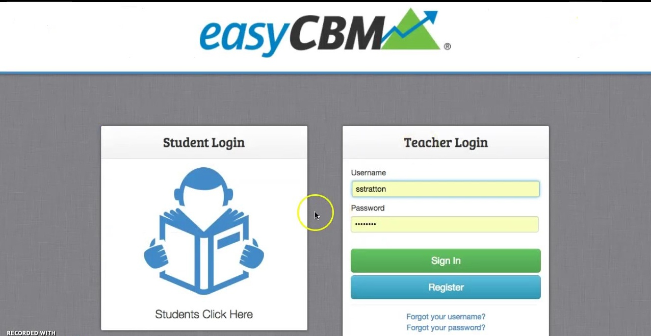 Easycbm Login for Students