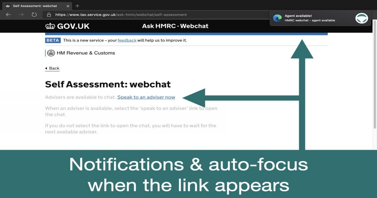 HMRC Live Chat Login