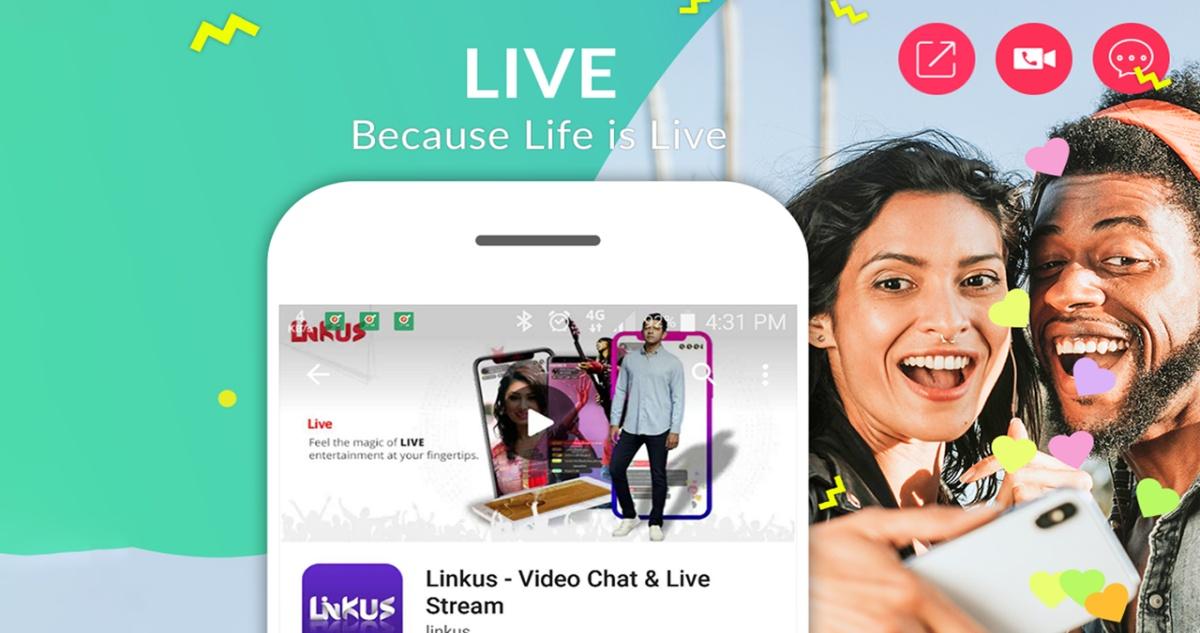 LINKUS Live Login