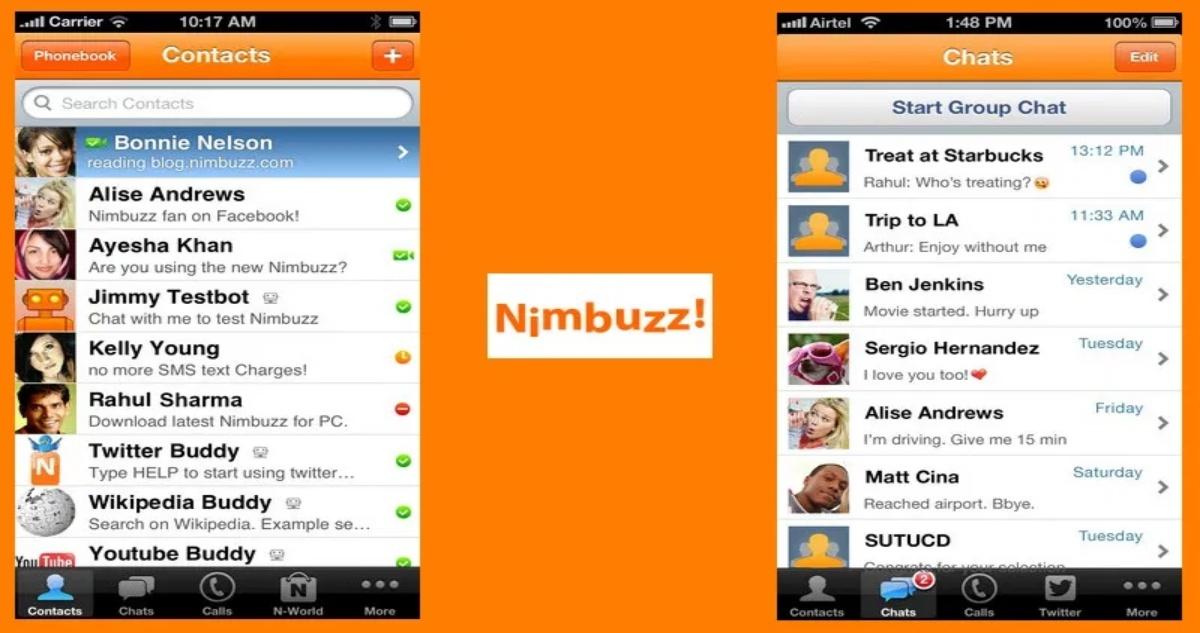 Nimbuzz Web Login