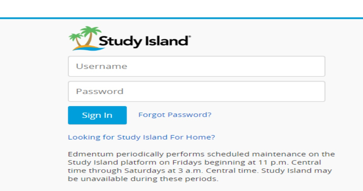 Study Island Login for Students