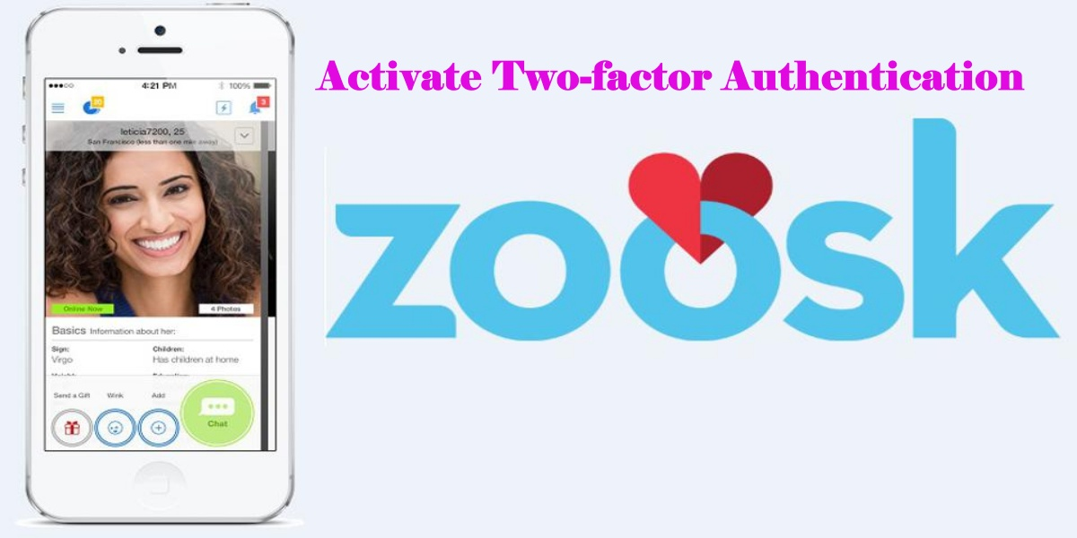 Two-factor Authentication for Zoosk