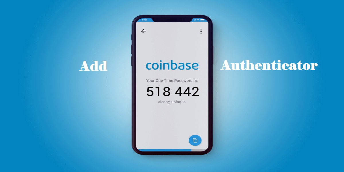 Add Coinbase to Authenticator