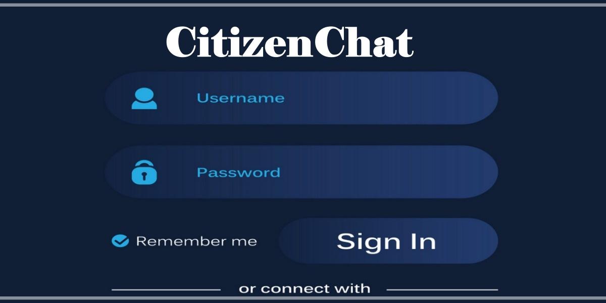 CitizenChat Login
