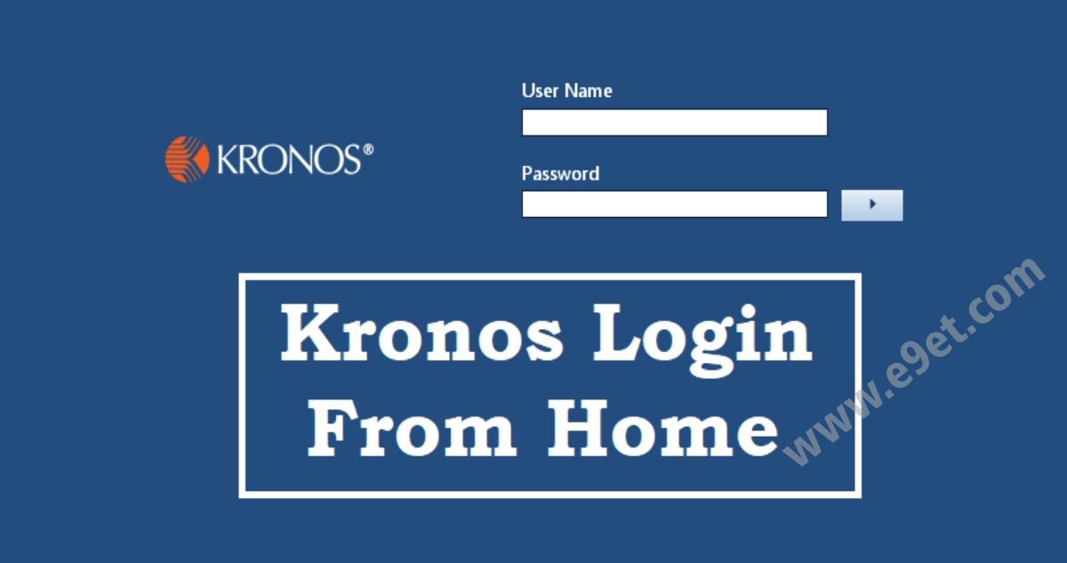 Kronos Employee Login