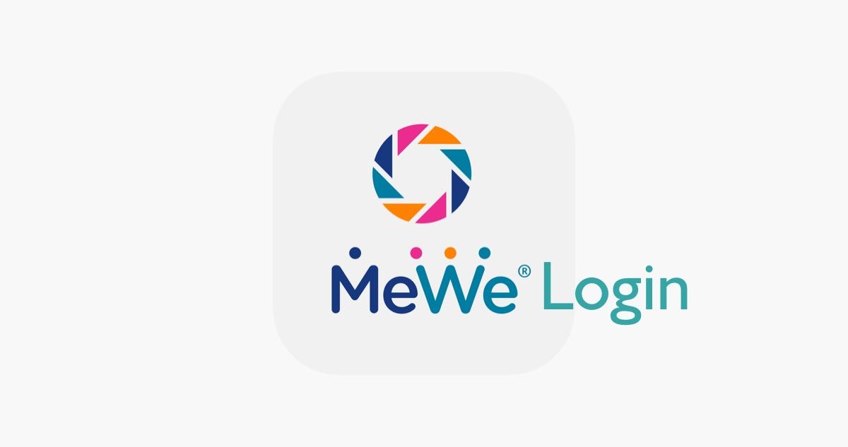 MeWe Login Desktop