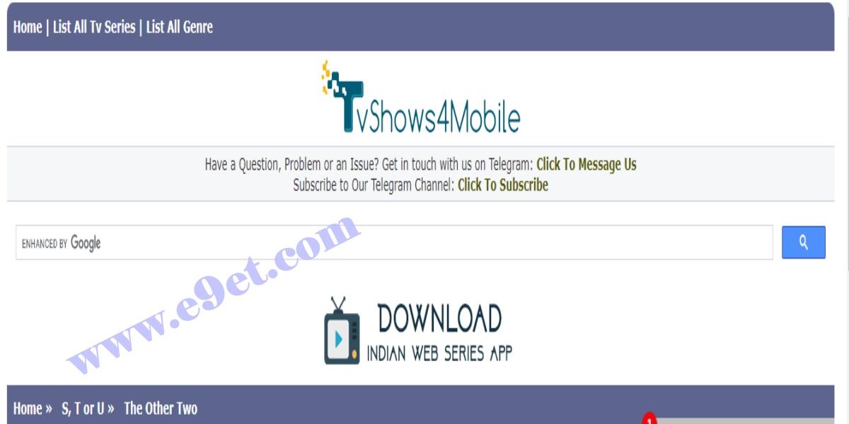Tvshow4mobile Series