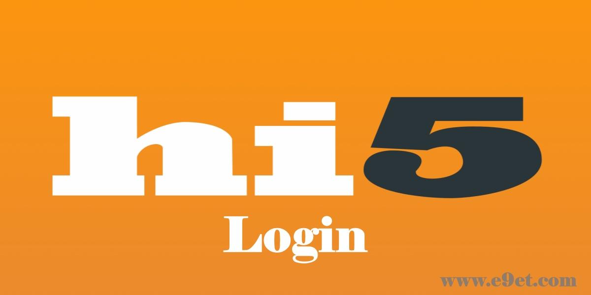Hi5 Account Login