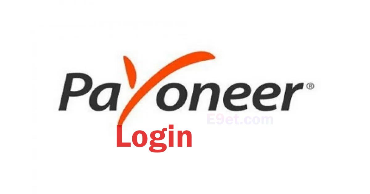 Payoneer Account Login